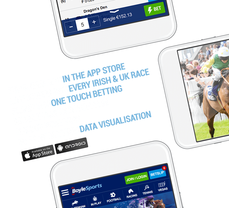 Top Rated App, Live Streaming, Flash Bet, Mobile Exclusive Offers, Racing Post Tips, In-Play Betting